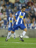 Argentinian player Nico Pareja of Espanyol — Stock Photo
