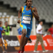 Bahamian athlete Andrae Williams — Stock Photo