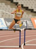 Polish athlete Anna Jesien — Stock Photo