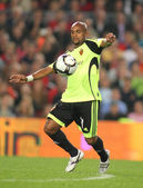 Brazilian player Ewerthon of Zaragoza — Stock Photo