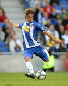 Ivan Alonso, Uruguayan player of Espanyol — Stock Photo