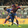 ������, ������: Pareja L of Espanyol and Ibrahimovic R of Barcelona