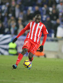 Cameroonian player Modeste M'bami of Almeria — Stock Photo