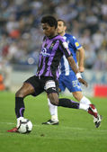 Angolan striker Manucho of Valladolid — Stock Photo