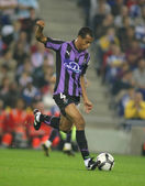 Brazilian defender Nivaldo Batista of Valladolid — Stock fotografie