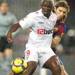 The Ivorian player Arouna Kone of Sevilla - Stockfoto