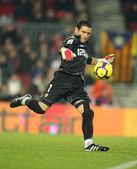 Sevilla FC Goalkeeper Andres Palop — Stock Photo