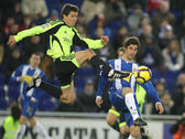 Ander Herrera (L) of Zaragoza — Stock Photo