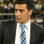 Getafe CF Manager Michel Gonzalez — Stock Photo