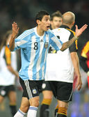 Argentinian player Di Maria — Stock Photo