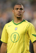 Brazilian player Ronaldo — Stock Photo