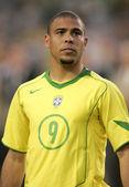 Brazylijski piłkarz ronaldo — Zdjęcie stockowe