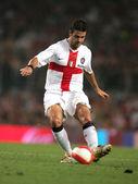 罗马尼亚足球运动员 cristian chivu — 图库照片