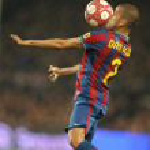 Постер, плакат: Dani Alves of FC Barcelona
