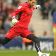 Stock Photo: Diego Lopez goalkeeper of Villareal