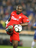 Didier Zokora of Sevilla — Stock Photo