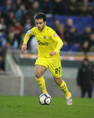 Giuseppe Rossi of Villareal — Stock Photo