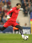 Diego Lopez goalkeeper of Villareal — Stock Photo