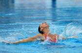 Spanish olympic medalist Gemma Mengual — Stock Photo