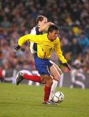Ekwadoru odtwarzacz luis gomez — Zdjęcie stockowe