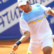 Argentinian Eduardo Schwank in action - Stock Photo