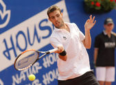 Spanish Marcel Granollers in action — Stock Photo