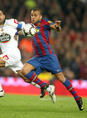 Dani Alves of Barcelona — Stock Photo