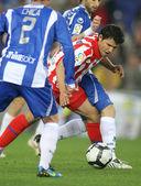 Kun Agüero of Atletico Madrid — Stock Photo