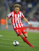 Forlan of Atletico Madrid — Stock Photo