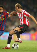 Fran Yeste of Athletic Bilbao — Stockfoto