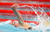 丹麦奥林匹克奖章获得者游泳健将乐天弗里斯 — 图库照片
