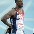Stock Photo: Dwain Chambers of Great Britain