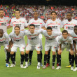 Sevilla FC Team - Stock Photo