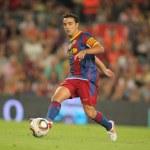 ������, ������: Xavi Hernandez of Barcelona