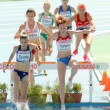 Competitors of 3000m Steeplechase Women — Stock Photo