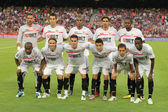 Sevilla FC Team — Stock Photo