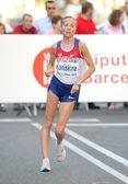 Olga kaniskina van rusland tijdens vrouwen 20km snelwandelen — Stockfoto