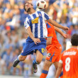 Osvaldo of Espanyol in action — Stockfoto