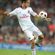 Luca Antonini player of AC Milan - Stock Photo