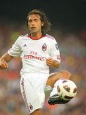 Andrea Pirlo player of AC Milan — Stock Photo