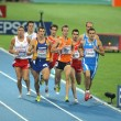 图库照片: Competitors of 800m Men