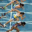 Stock Photo: Competitors of 100m Women