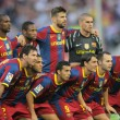 Futbol Club Barcelona Team - Stockfoto