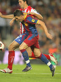 David Villa of Barcelona — Stock Photo