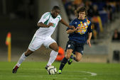 Nigerian player Bright Dike — Stock Photo