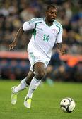 Nigerian player Sunday Mba — Stock Photo