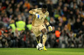 Nigerian goalkeeper Chigozie Agbim — Stock Photo