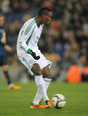 Nigerian player Godfrey Oboabona — Stock Photo