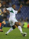 Nigeryjski gracz niedzielę mba — Zdjęcie stockowe