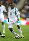 Nigerian player Ejike Uzoenyi — Stock Photo